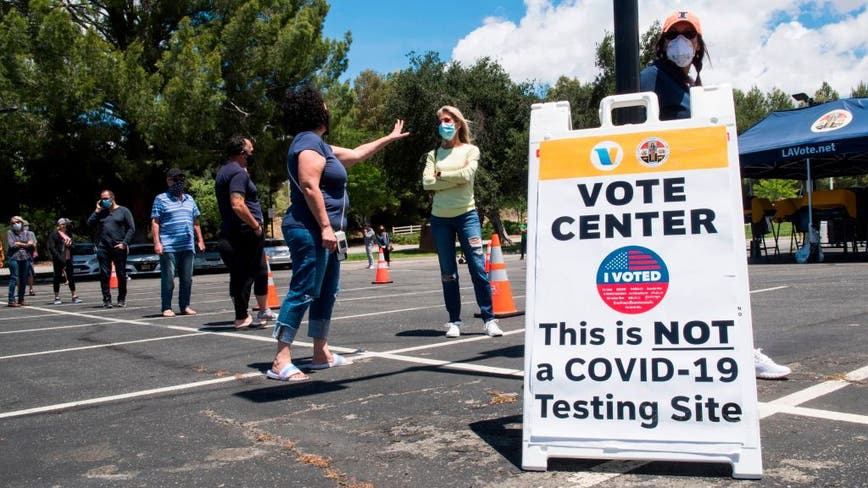California sets in-person voting guidelines amid coronavirus pandemic
