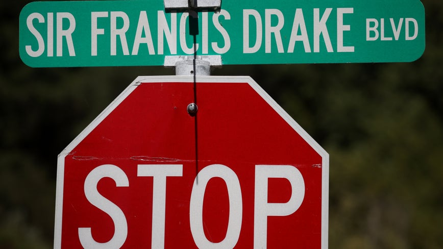 Learning session Wednesday part of potential Sir Francis Drake Blvd. name change