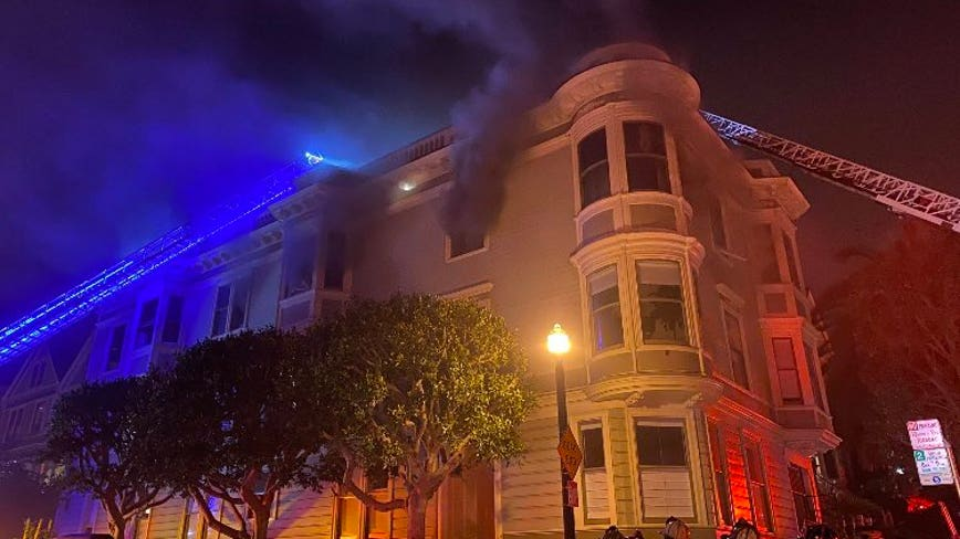 11 residents displaced by two-alarm fire Sunday morning in San Francisco