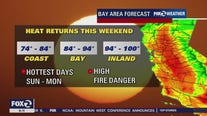 Seasonable today, very hot for weekend