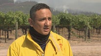 Napa County fire provides an update on the Glass Fire burning in Napa County