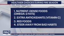 Healthier foods during fire season