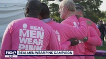 Steve Barsanti joins KTVU to talk about the Real Men Wear Pink Campaign