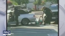 SJPD officer seen on video kicking, dragging women charged