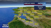 MONDAY FORECAST: Hot temps, Spare the Air and Red Flag Warning