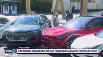 California to end sale of gas-powered cars and trucks