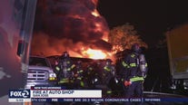 Fire breaks out at tire and car repair shop in San Jose