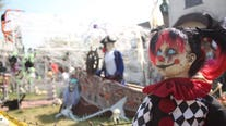 Elaborate Halloween display in the South Bay attracts droves 'in a time where not much is positive'