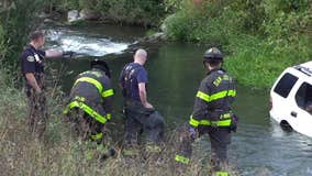 Speeding vehicle crashes into tree, ends up in Guadalupe river; driver killed