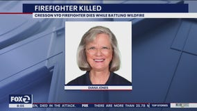 Firefighter killed in California wildfires was volunteer from Texas