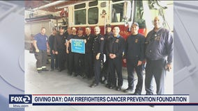 KTVU 'Giving Day' recognizes Oakland Firefighters Cancer Prevention Foundation