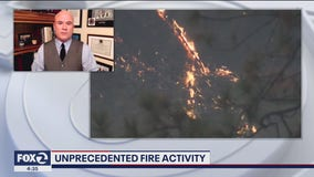 Former fire chief weighs in on unprecedented fire activity in California