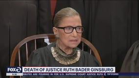 Battle for the Supreme Court seat of Justice Ruth Bader Ginsburg