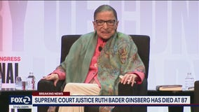 Legal powerhouse: Remembering Justice Ruth Bader Ginsburg