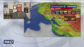MONDAY FORECAST: Air quality advisory issued, mild to warm temps