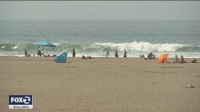 Heat wave sends people flocking to San Francisco beaches