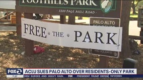 ACLU sues Palo Alto over longtime policy of banning non-residents from city park