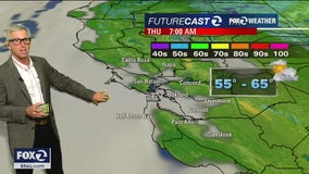 THURSDAY FORECAST: Foggy morning, temps warm inland