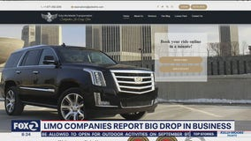 Limo companies see large drop in business