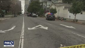 Two Oakland police officers recovering after hit-and-run driver rams into them
