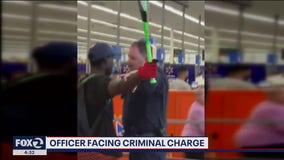 Officer facing criminal charge in deadly shooting