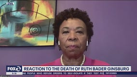 Congresswoman Barbara Lee discusses passing of Supreme Court Justice Ruth Bader Ginsburg on Mornings on 2