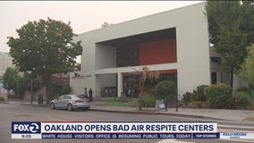 Oakland opens first air respite centers