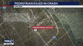 Pedestrian hit and killed by ambulance in San Jose