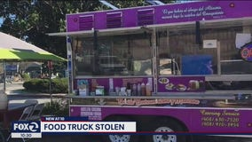 San Jose family desperate to find stolen food truck