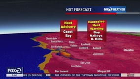 San Francisco sets record with high of 100 degrees; more excessive heat for Labor Day