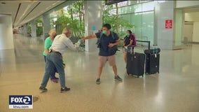Bay Area man living in Wuhan during COVID-19 outbreak arrives home