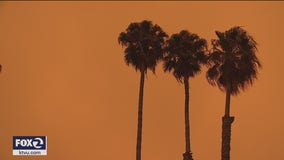 'It's crazy': Bay Area residents astounded by eerie, orange, smoke-filtered skies
