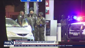 San Jose standoff with man barricaded inside his car ends with his surrender
