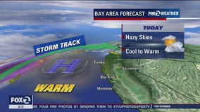 Hazy skies, better air on Thursday