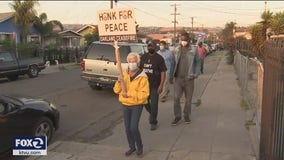 Community leaders resume anti gun violence marches in Oakland