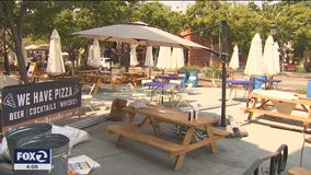 Heat wave clashes with coronavirus restrictions on Labor Day
