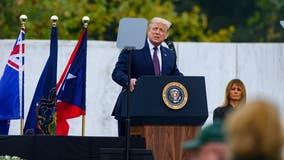 Trump, Biden commemorate 9/11 at Flight 93 memorial in Shanksville, Pennsylvania
