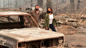 CA family accuses Newsom, Harris of trespassing on property for wildfire photo-op