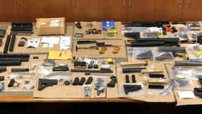 Rohnert Park authorities arrest felon with stash of firearms, silencers and ammunition