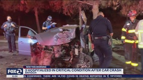 Two year-old among critically injured in Antioch crash