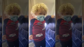 Mom asked to leave Southwest flight with son, 2, because he wasn't wearing a mask, she says
