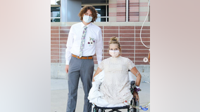 Teen who lost both legs in crash goes to homecoming, as her inspirational story goes viral