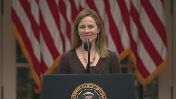 President Donald Trump nominates Amy Coney Barrett to Supreme Court of The United States