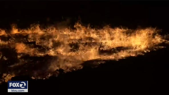 Glass Fire explodes to 1,500 acres