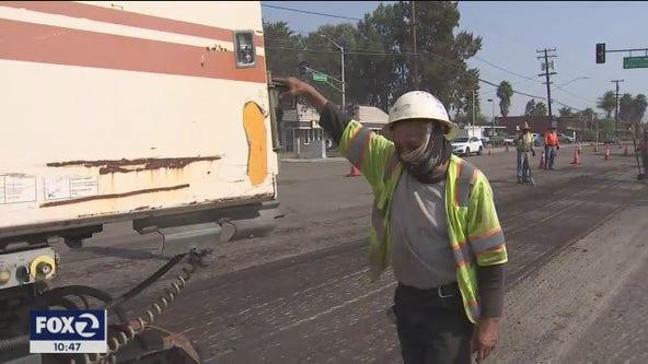 California a fall furnace as hot temperatures bake Bay Area
