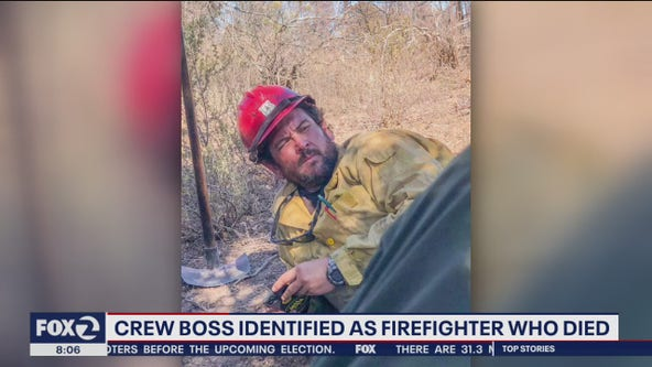 California crew boss who died in wildfire started by gender reveal gathering ID'd