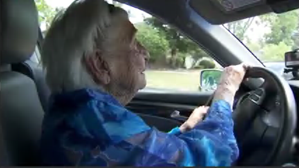 98-year-old Benicia driver hangs up her car keys for good