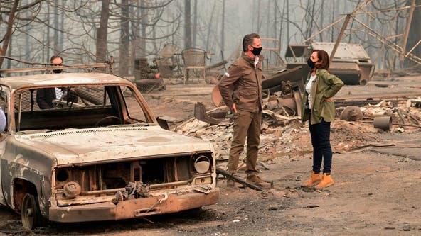 California Gov. Newsom to tour damage wreaked by Glass Fire