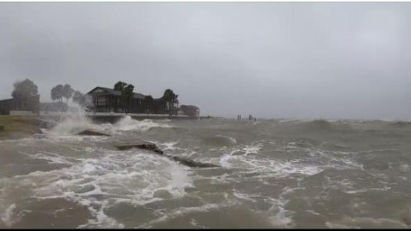 Tropical Storm Beta makes landfall along Texas coast