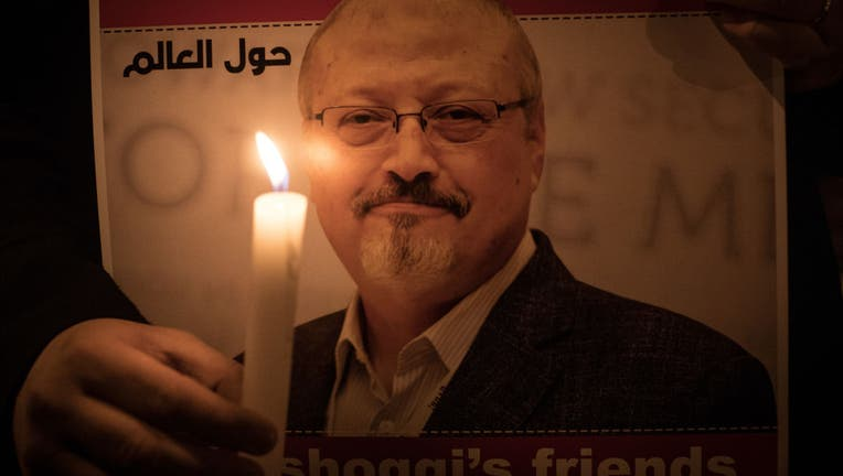 Vigil for Khashoggi at Saudi Consulate in Istanbul